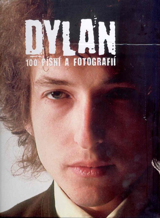 100 pisni a fotografii Dylan book in Czech