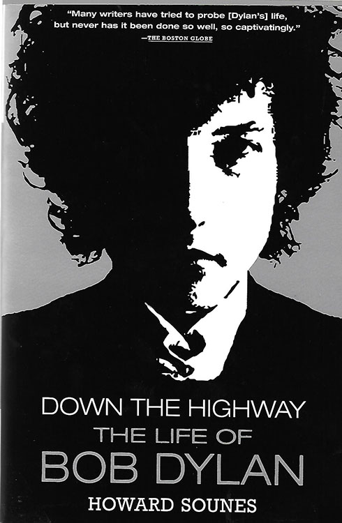 down the highway howard sounes Bob Dylan book groove 2002