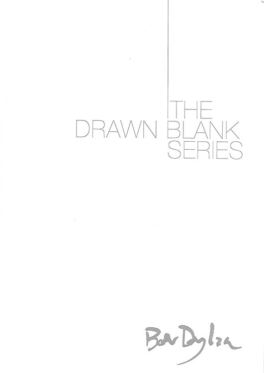 bob dylan the drawn blank series 2008 catalogue