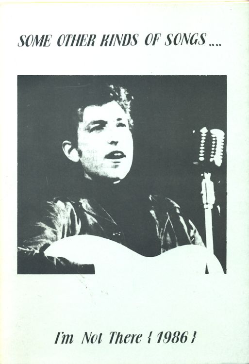some other kinds of songs Bob Dylan book