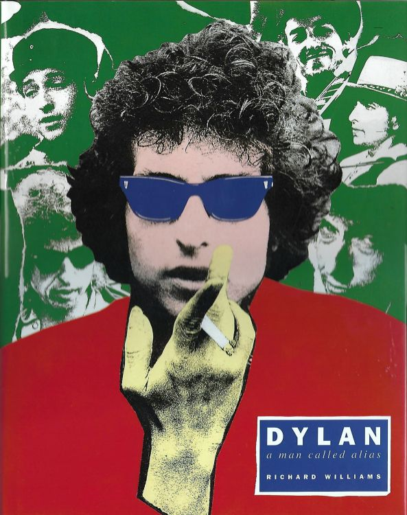 Dylan a man called alias large hardcover book