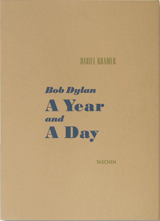 a year and a day Bob Dylan taschen 2016 daniel kramer box
