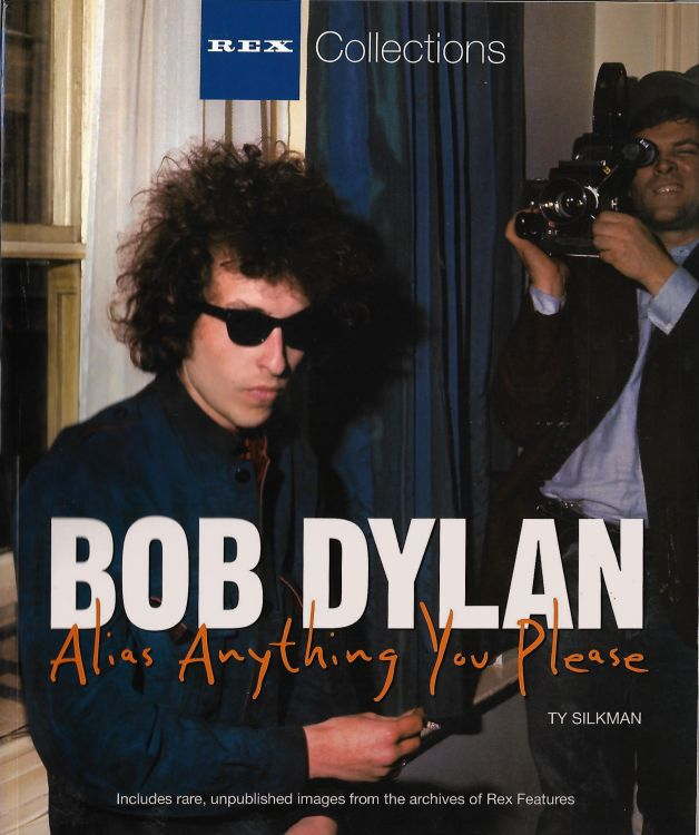 alias anything you please softcover Bob Dylan book