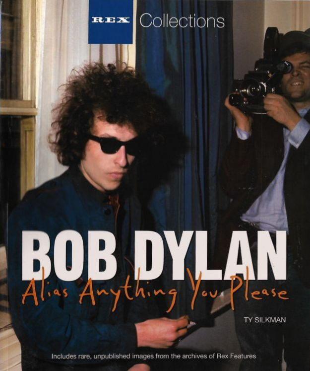 alias anything you please Bob Dylan book