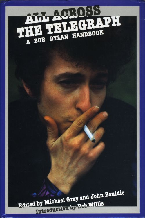 all across the telegraph 1987 hardback Bob Dylan book