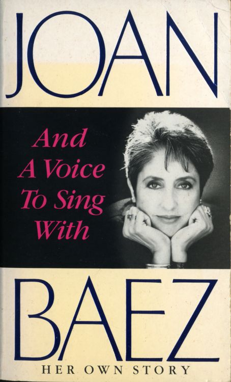 and a voice to sing with baez her own story book