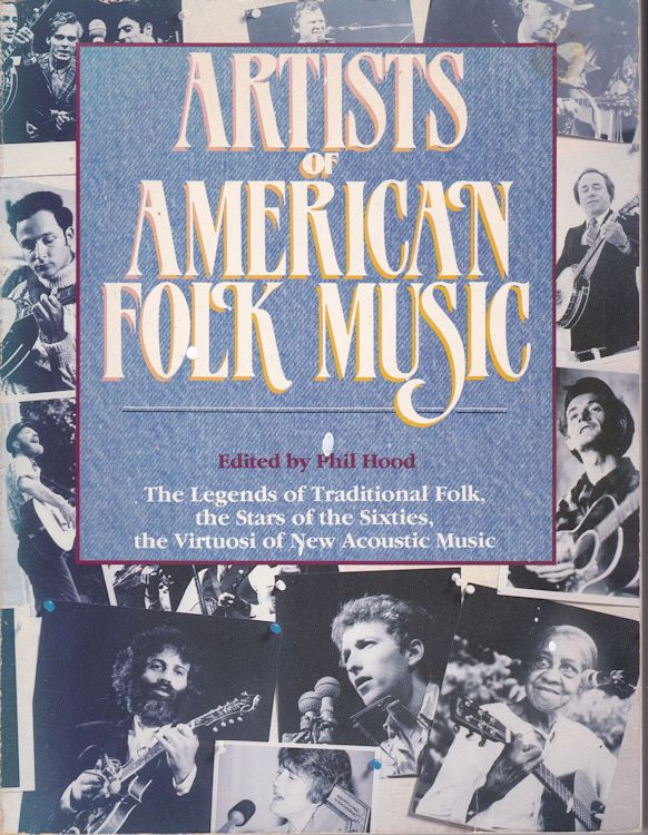 artists of american folk music Bob Dylan book