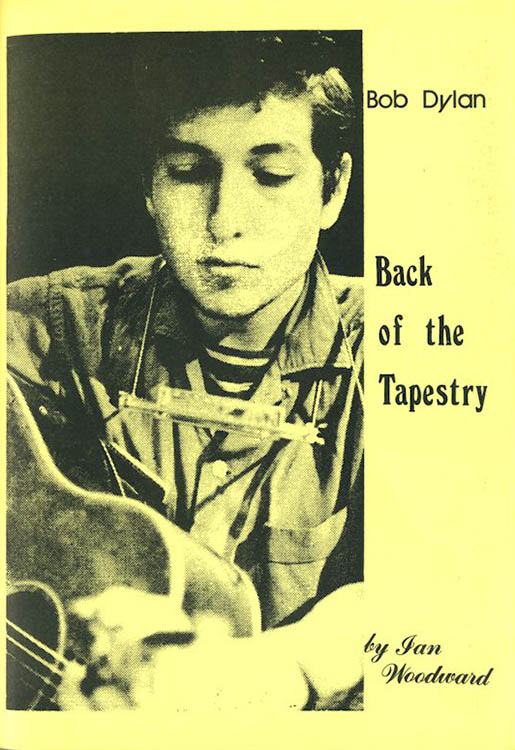 back of the tapestry Bob Dylan book