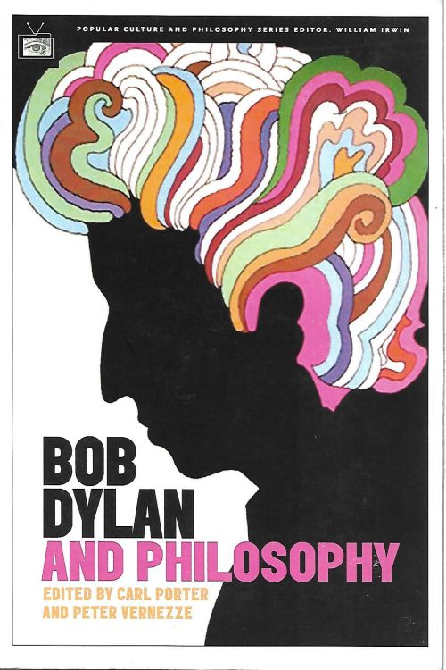 Bob Dylan and philosophy book advance uncorrected proof copy