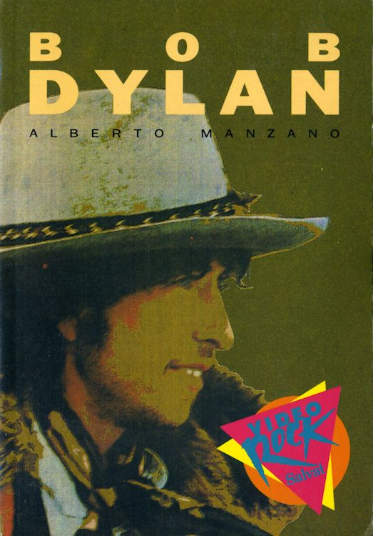 bob dylan alberto manzano book in Spanish
