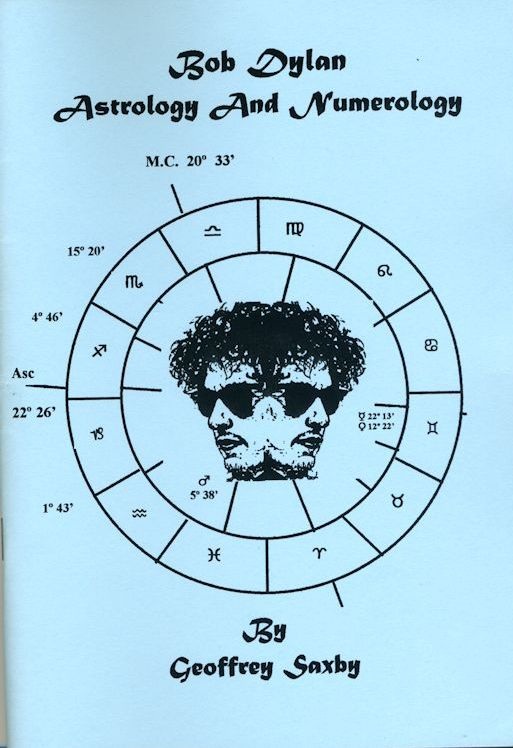astrology and numerology Bob Dylan book