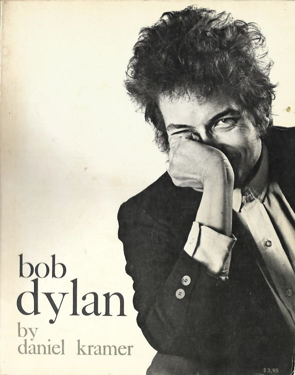 Bob Dylan by daniel kramer citadel press 1967 paperback book