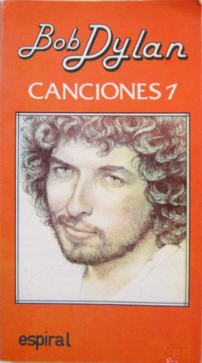 canciones 1 Espiral/Fundamentos June 1984 bob dylan book in Spanish