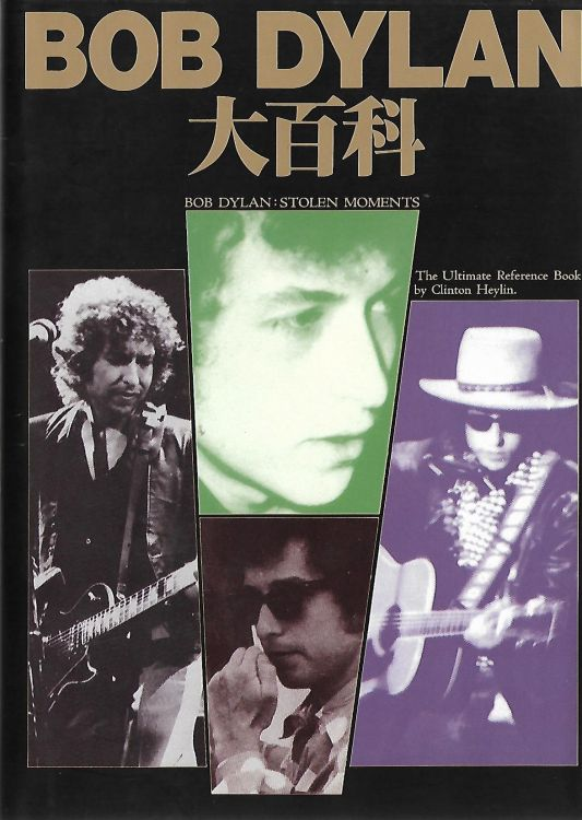ボブ・ディラン大百科 stolen moments bob dylan book in Japanese