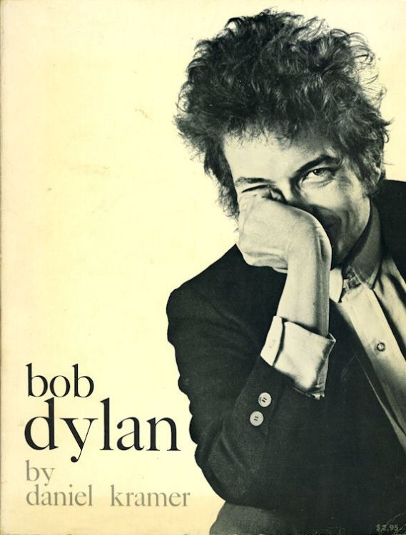 Bob Dylan by daniel kramer citadel press 1967 hardcover book