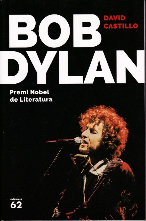 bob Dylan david castillo book in Catalan obi
