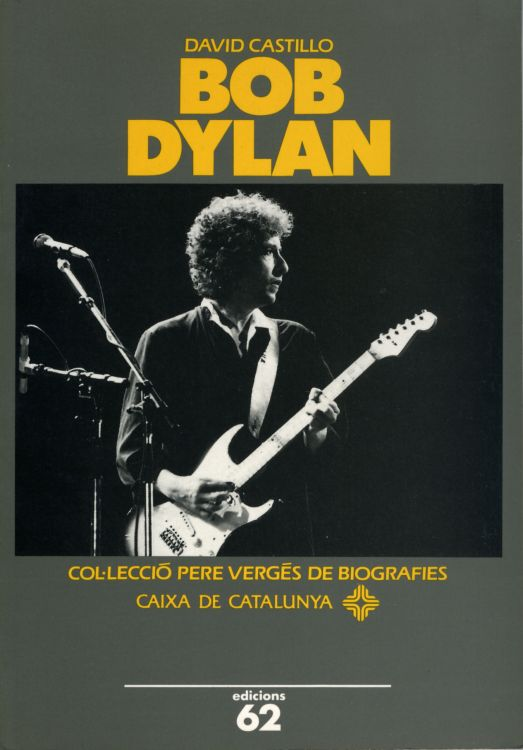 bob Dylan david castillo 19930book in Catalan