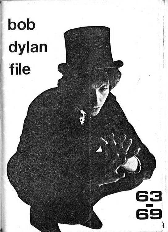 Bob Dylan files 63-69 book