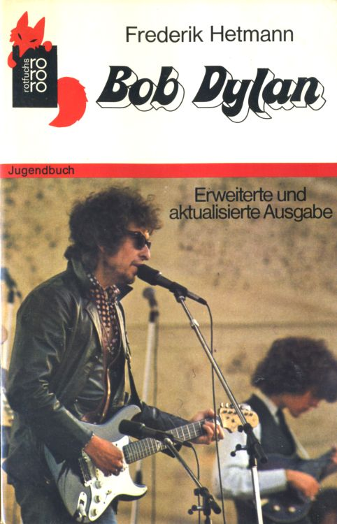 bob dylan frederik hetmann book in German 1980
