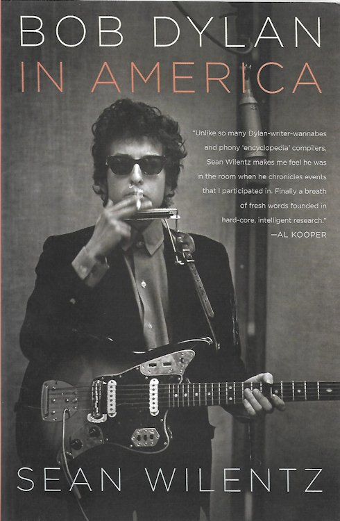 Bob Dylan in america book
