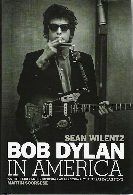 Bob Dylan in america hardcover book