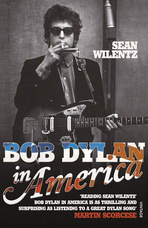 Bob Dylan in america softcover Bob Dylan book