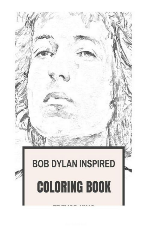 Bob Dylan inspired colouring book