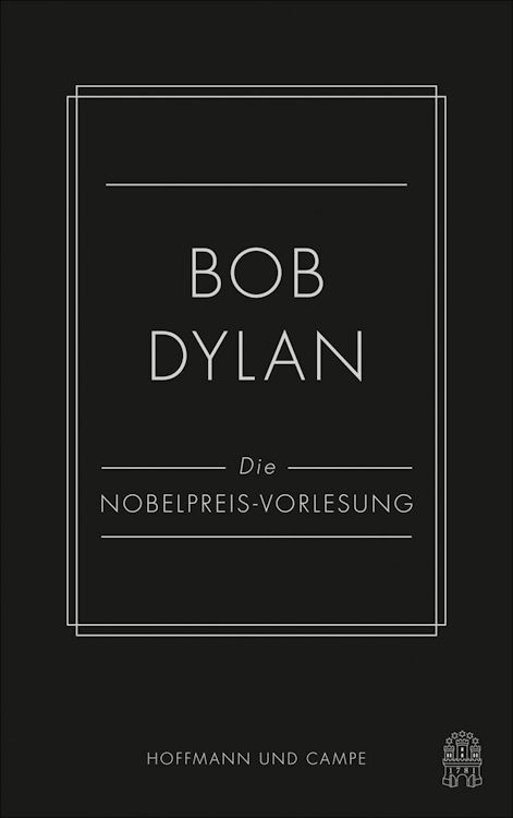 die nobelpreisrede bob dylan book in German
