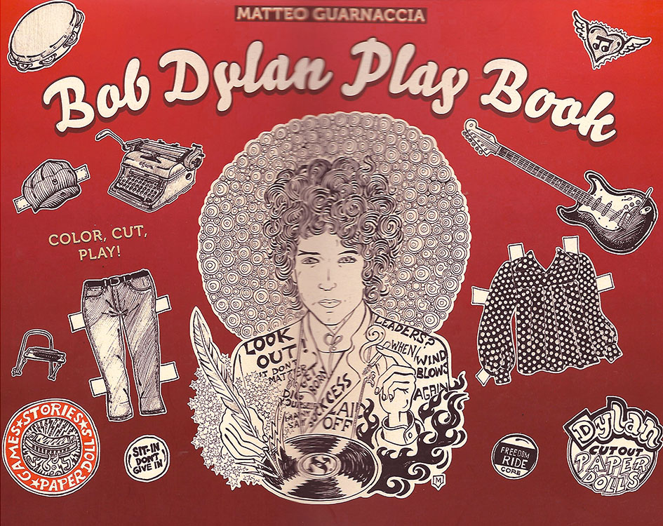 Bob Dylan play book colour cut play