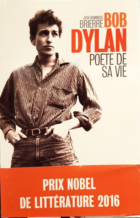bob dylan poete de sa vie book in French with obi