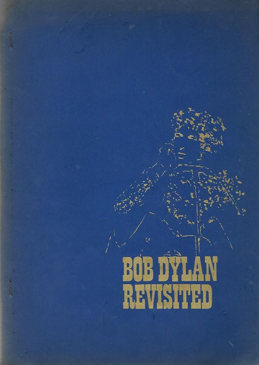 bob dylan revisited book in Dutch blue cover