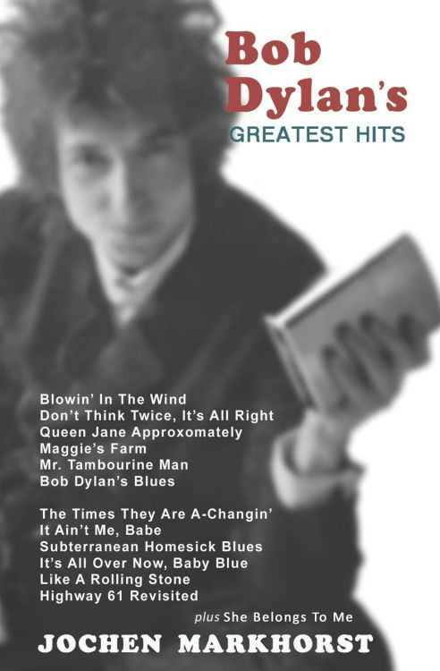 bob dylan greatest hits book in Englishh