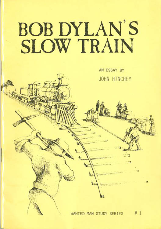 Bob Dylan's slow train book