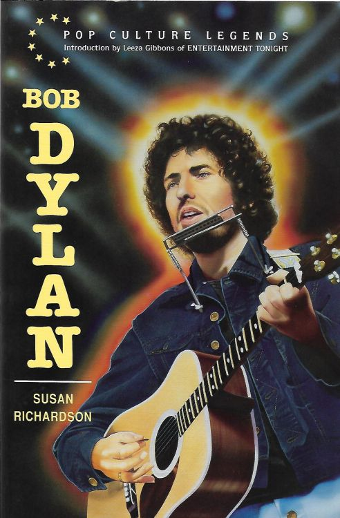 Bob Dylan by suzan richardson softcover book