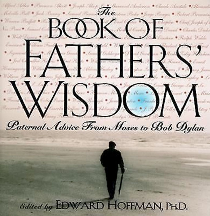 Bob Dylan book of father wisdom