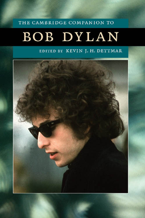 cambridge companion to Bob Dylan book
