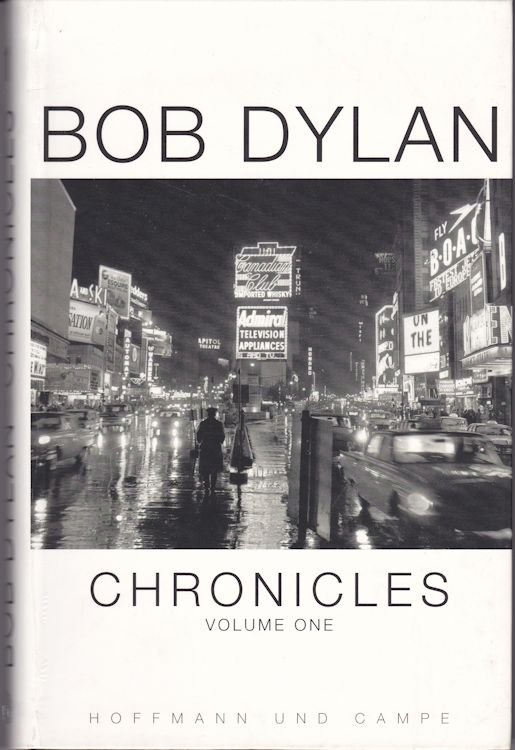chronicles volumze 1 bob dylan book in German