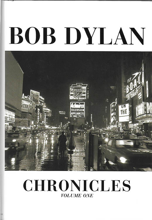 chronicles volume one hardcover 2004 USA Bob Dylan book
