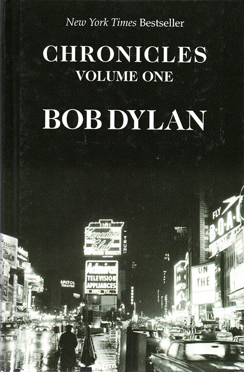 chronicles volume one thorndike press 2005 large print Bob Dylan book