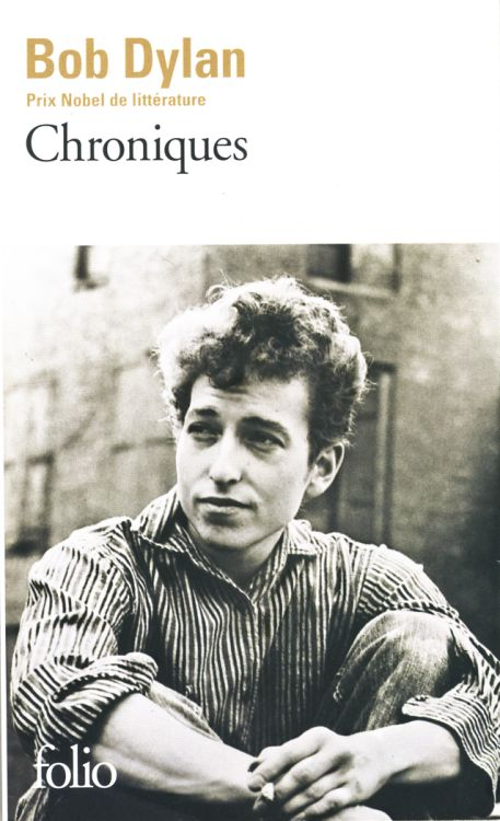 bob dylan chronicles gallimard folio 2016 book in French