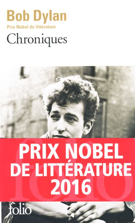 bob dylan chronicles gallimard folio 2016 book in French with obi