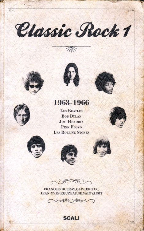 classic rock 1 book in French