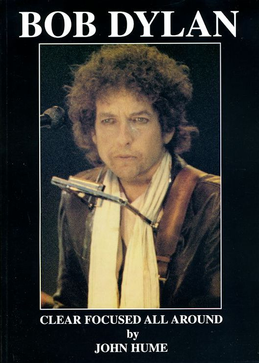 clear focused all around Bob Dylan book