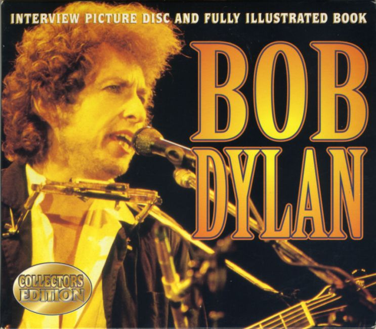 the complete guide to the music of Bob Dylan book in a collector's box