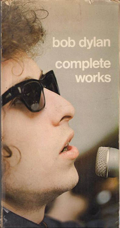 Bob Dylan complete works Uitgeverij De Bezige Bij and Thomas Rap Publishers 1969 book