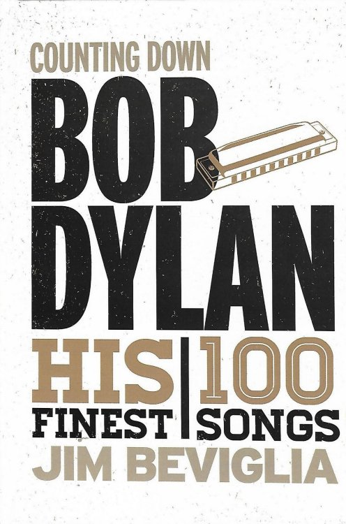 counting down Bob Dylan book hardcover
