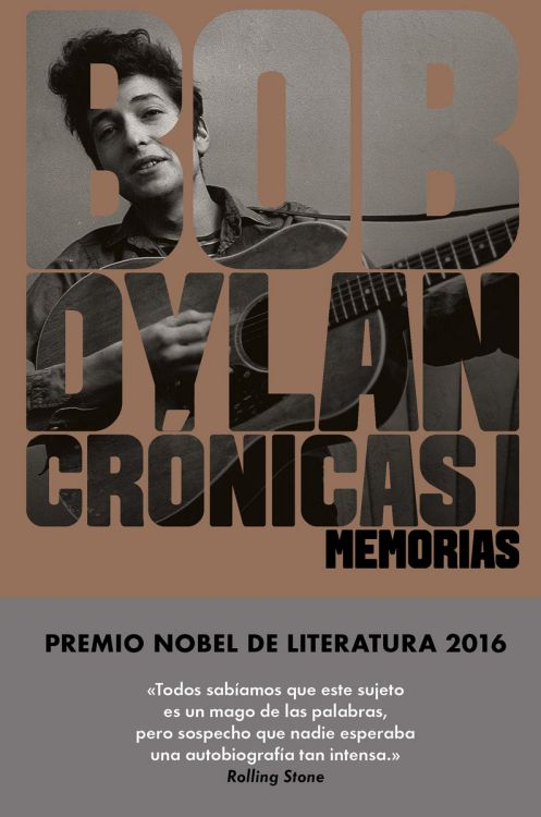 cronicas volumen 1 bob dylan book in Spanish 2017