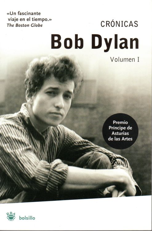 cronicas volumen 1 bob dylan book in Spanish 2007