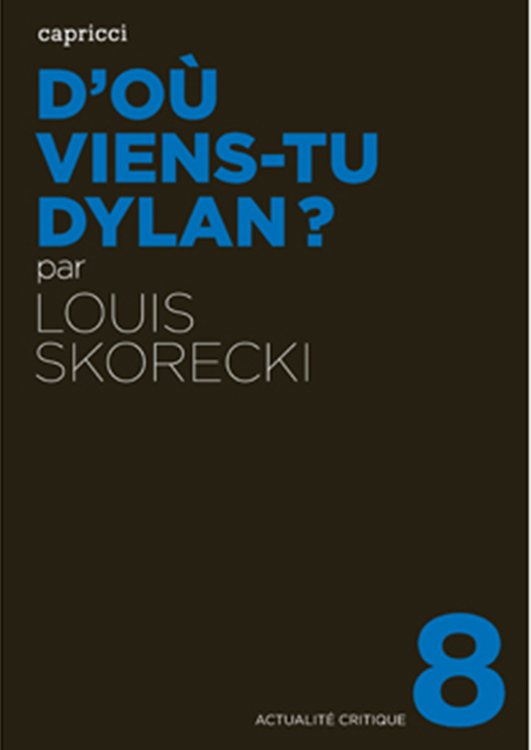 d'où viens-tu dylan book in French