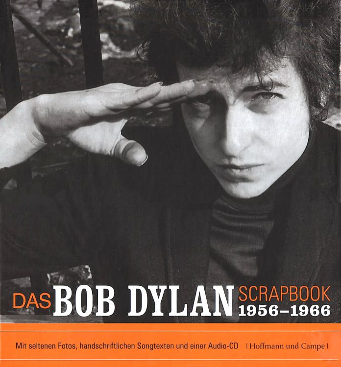 das bob dylan scrapbook 1956-1966 book in German
